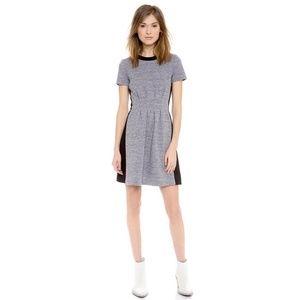 Madewell Parkline Dress in Colorblock A0996 sz 4